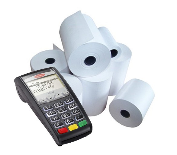 Ingenico ICT 220 Tally Rolls - 20 Rolls (57x40)